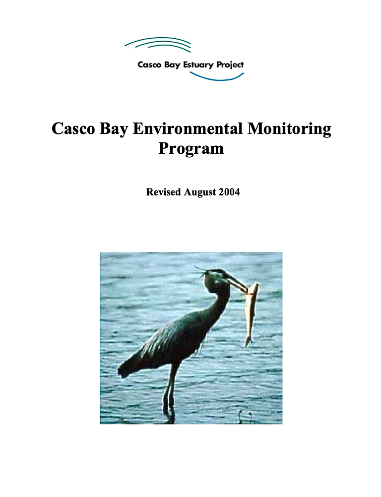Casco Bay Environmental Monitoring Program