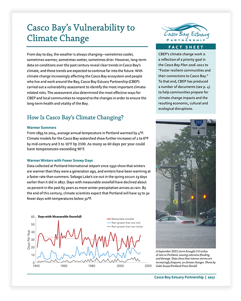 Climate Change Fact Sheet